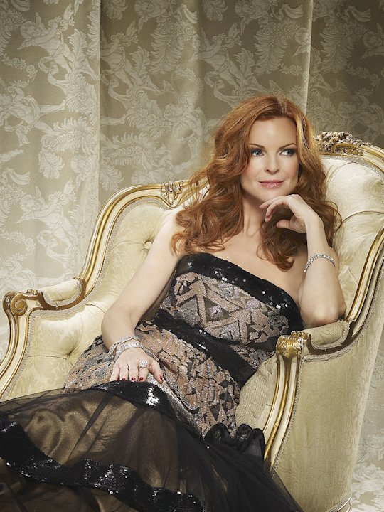 Marcia Cross in the ABC series &quot;Desperate Housewives&quot; 