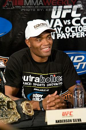 """Anderson Silva Still Hasn't Inked UFC Contract Extension, but """"It's Gonna Get Done"""""""