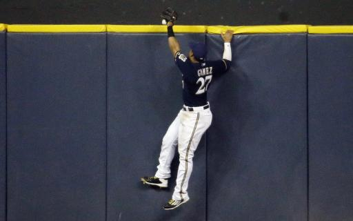Lind homers, doubles in Brewers' 6-3 win