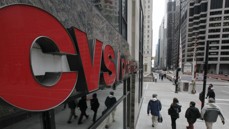 CVS Caremark 3Q profit up 16 pct. as sales rise