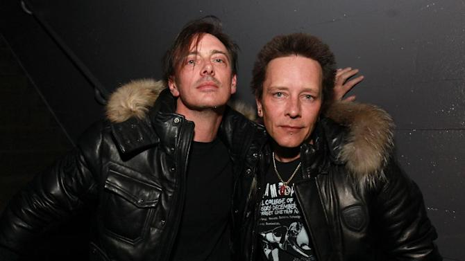 IMAGE DISTRIBUTED FOR PARK CITY LIVE - Donovan Leitch and Billy Morrison are seen at the Sound City Players at Park City Live Day 2 on Friday, January 18, 2013, in Park City, Utah. (Photo by Barry Brecheisen/Invision for Park City Live/AP Images)