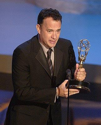 Tom Hanks Best Miniseries Band of Brothers Emmy Awards - 9/22/2002