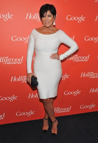 Kris Jenner arrives at Google & Hollywood Reporter Host an Evening Celebrating The White House Correspondents&#39; Weekend in Washington, DC on April 27, 2012 -- Getty Images