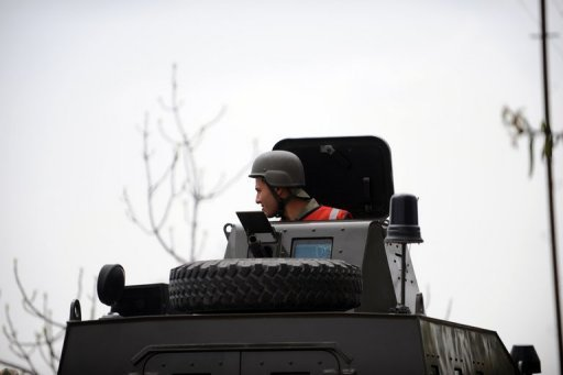 "<p>A Turkish armoured vehicle on patrol near the border with Syria in Kilis. NATO has condemned Syria's downing of a Turkish jet as ""unnacceptable"" and expressed ""strong support and solidarity"" with Turkey after emergency consultations in Brussels.</p>"