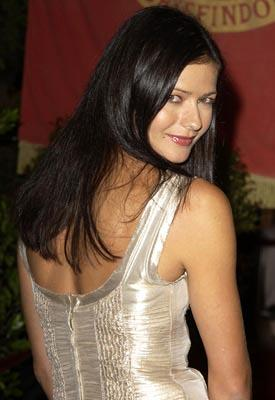 Jill Hennessy at the Hollywood premiere of Warner Brothers' Harry Potter and The Chamber of Secrets