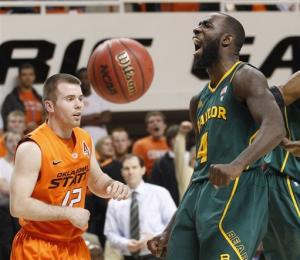 No. 6 Baylor edges Oklahoma State 64-60