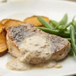 Pork Chops au Poivre