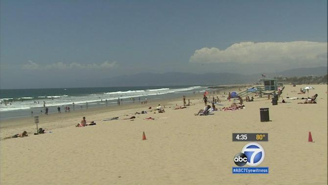 High surf, dangerous rip currents keeping local lifeguards busy