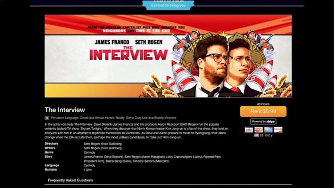 `The Interview` Now Streaming Online, Will Be Released in Select Theaters Christmas Day