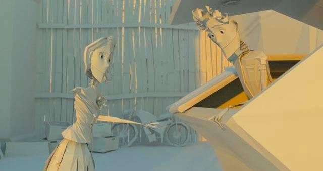 A Classic Boy Meets Girl, In A Chewed Up Paper World #ShortFilm