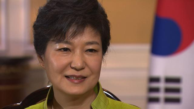 "Web extra: South Korean President Park Geun-hye: ""North Korea must change"""