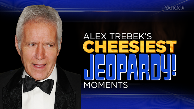 Alex Trebek's Cheesiest 'Jeopardy' Moments