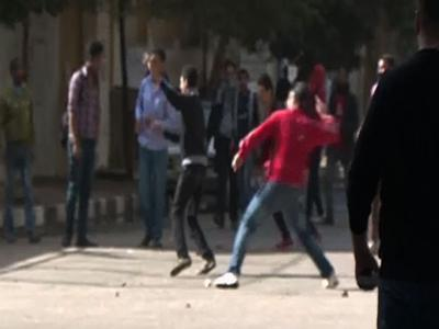Raw: Anti-Government Protests in Cairo