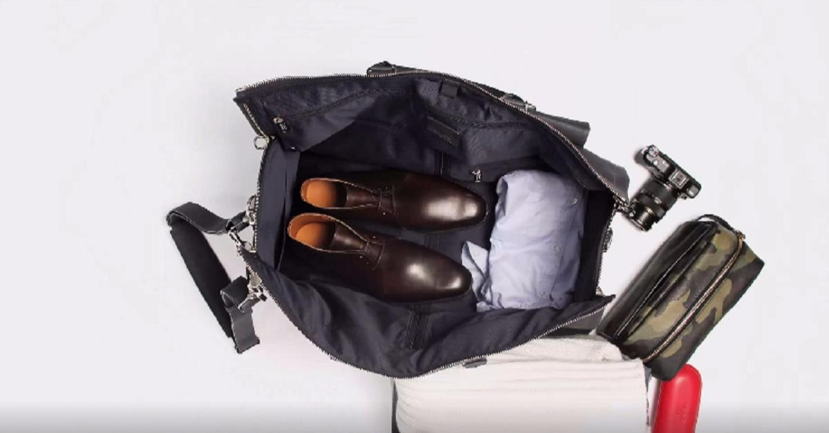 The Only Garment Bag You'll Ever Need