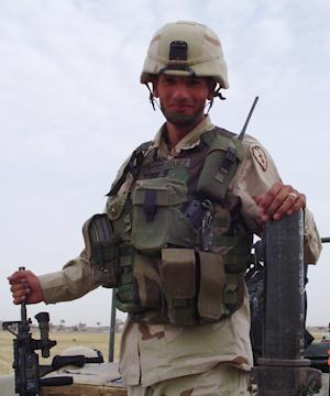 In this 2004 family photo shows Oscar Rodriguez while he was serving in Iraq. A federal appeals court has ordered a new trial in a lawsuit filed by the family of the Texas soldier killed during a live-fire training exercise in Hawaii. The 9th U.S. Circuit Court of Appeals ruling overturned a jury verdict that found the manufacturer of mortar cartridges not liable for causing the 2006 explosion that killed Staff Sgt. Oscar Rodriguez. (AP Photo/Rodriguez Family)