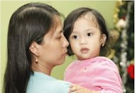 One-year-old Zoe Sophia and her mother have started the new year back in their home country thanks to the kindness of 7DAYS readers.