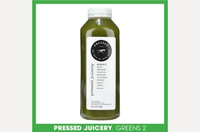 Pressed Juicery, Greens 2