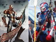 "Iron Patriot revealed on ""Iron Man 3"""