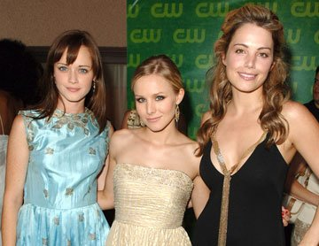 Alexis Bledel, Kristen Bell and Erica Durance