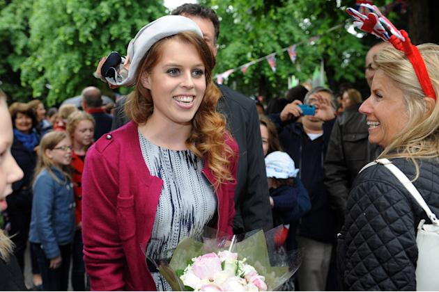 Royals Attend Diamond Jubilee Street Parties