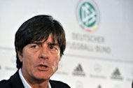 Germany coach Joachim Loew, seen here in February 2012, hopes that none of his players will pick up serious injuries between now and the end of the season, as the Euro 2012 championships loom in just over two months' time