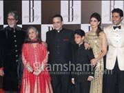 Bollywood couples attend Amitabh Bachchan&#39;s birthday bash