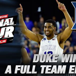 Players & Coach K Talk South Region Championship | Duke in the Final Four