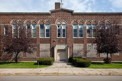 Video Interlude: Scrapped Saint Rita School Becomes a Big Slice of Blight
