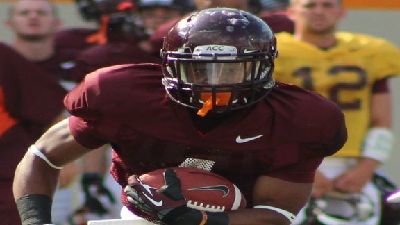HokieHaven.com: Coleman''s Big Scrimmage