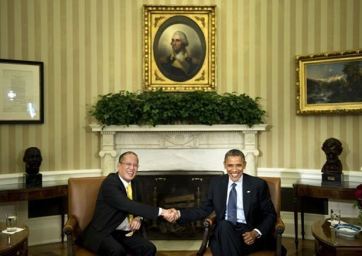Aquino said his meeting with Obama has &quot;deepened and strengthened&quot; ties