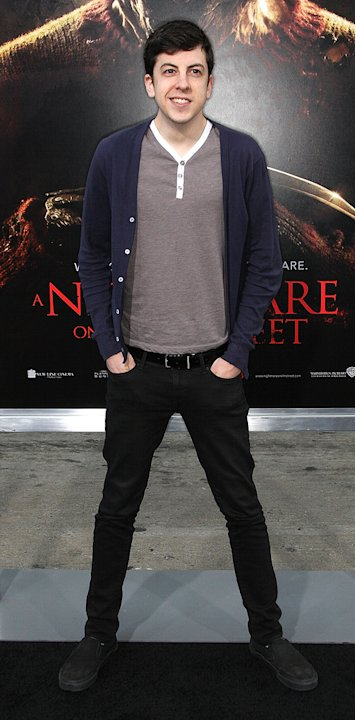 A Nightmare on Elm Street LA Premiere 2010 Christopher Mintz Plasse