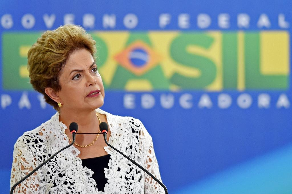 Brazilian president fights for political life