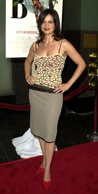Premiere: Carla Gugino at the Hollywood premiere of Touchstone's Bubble Boy - 8/23/2001