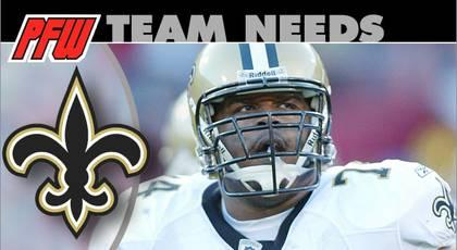New Orleans Saints: 2013 team needs