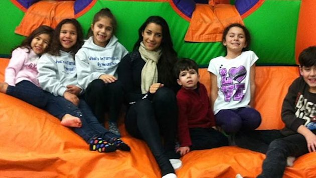 Olympian Aly Raisman Visits Newtown, CT Gym