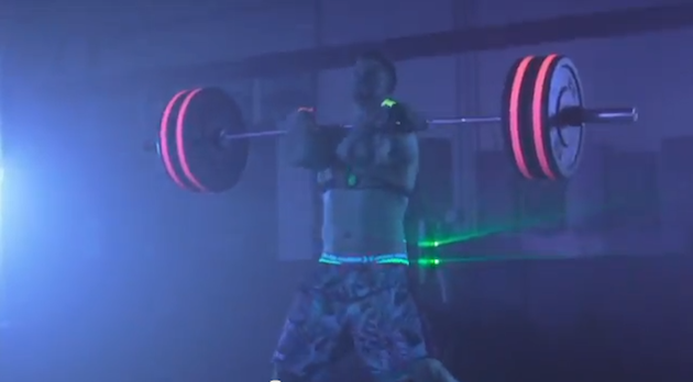 Bryce Harper Weight Lifting