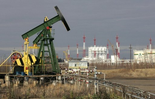 <p>Russian leaders hailed their powerful energy industry as the country posted a post-Soviet record high rate of oil production that should boost coffers in uncertain global economic times.</p>