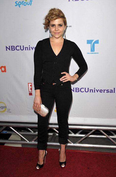 "Mae Whitman ""Parenthood"" attends the NBC Universal Summer TCA 2011 All-Star Party at the SLS Hotel on August 1, 2011 in Los Angeles, California."