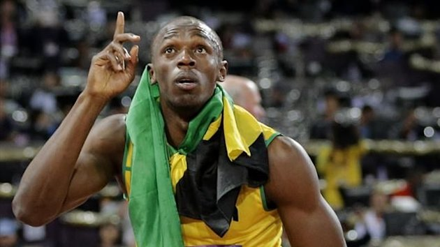 "<p class=""MsoNormal"">10 - Usain Bolt - At the London Olympics, Bolt won the 100m gold medal with a time of 9.63 seconds, before a successful defence of his 200m gold medal in a time of 19.32s. Bolt was then a part of Jamaica's world-record breaking 4x100m relay team to cap off another incredible Olympic display.</p>"