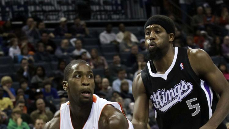 NBA: Sacramento Kings at Charlotte Bobcats