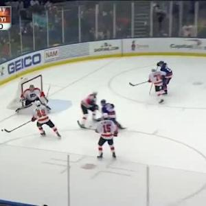 Steve Mason Save on Nick Leddy (18:48/1st)
