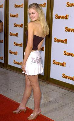 Sara Paxton at the L.A. premiere of MGM's Saved!