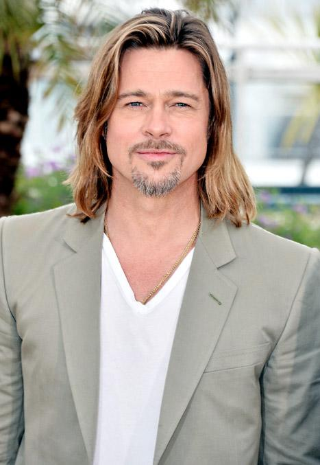 "Brad Pitt Turns 49: I Plan to ""Spend My Time Wisely"""