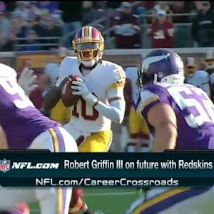 Redskins quarterback Robert Griffin III: 'I'm playing for this year'
