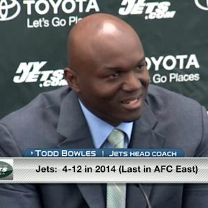 New York Jets head coach Todd Bowles: 'I'll have a big hand in the defense'