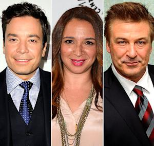 Jimmy Fallon, Maya Rudolph and Other Stars React to 2012 Emmy Nominations