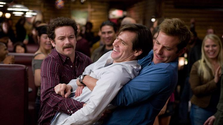 Danny Masterson Jim Carrey Bradley Cooper Yes Man Production Stills Warner Bros. Pictures 2008