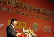 File photo shows Nan Yong, former head of the Chinese Football Association, in 2009. China on Wednesday jailed eight people including two ex-chiefs of its football association and four former national team players, culminating a major crackdown on corruption in the sport