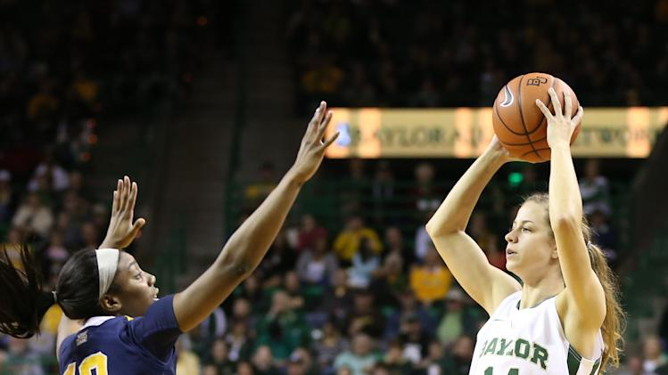 NCAA Womens Basketball: West Virginia at Baylor