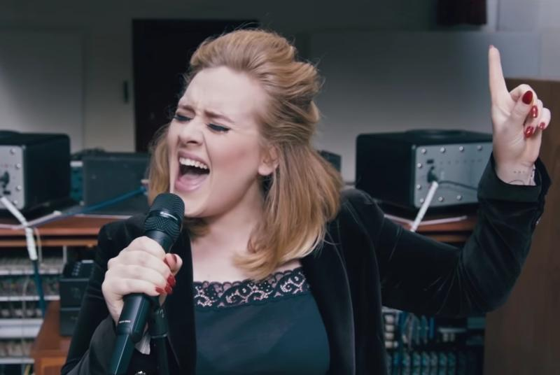 Adele sold 2.3 million copies of 25 in a single weekend